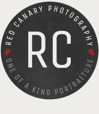 Wedding, Children and Family Photography in Tampa + St. Petersburg I Red Canary Photography I One of a Kind Portraiture logo